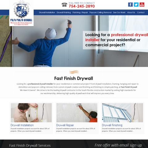 Fast Finish Drywall